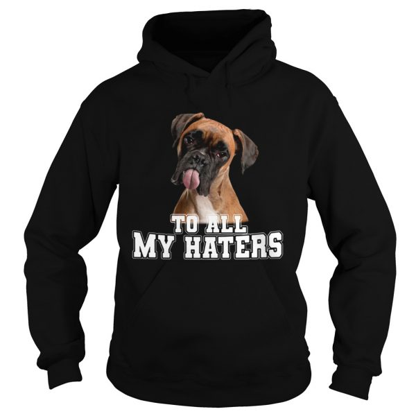 Boxer To All My Haters  Hoodie